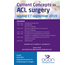 Current Concepts in ACL Surgery - vrijdag 27 september a.s.